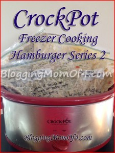 crockingpot freezer cooking