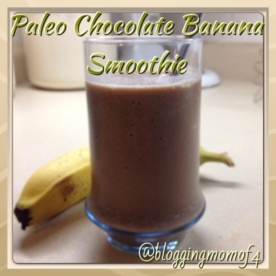 Paleo Chocolate Banana Smoothie