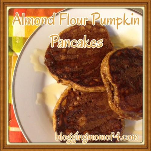 Almond Flour Pumpkin Pancakes