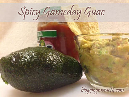 Spicy Gameday Guac