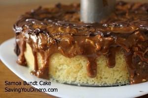 Samoa-Bundt-cake