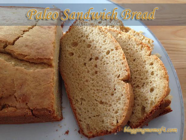 Paleo Sandwich Bread #Paleo #SCD