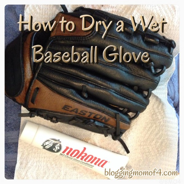How To Dry A Wet Baseball Glove