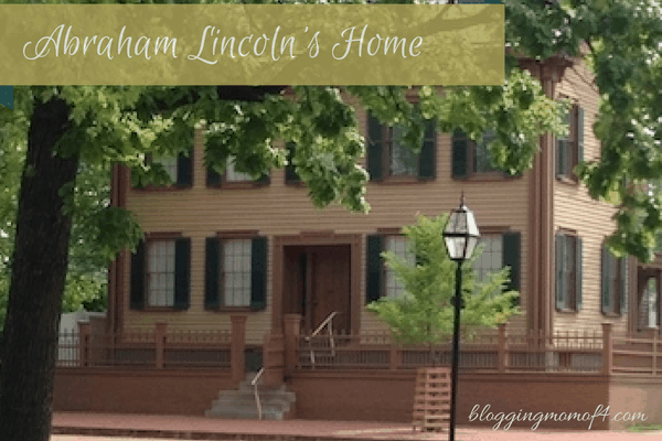 Visiting the Home of Abraham Lincoln