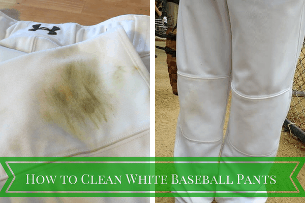 How to Clean White Baseball Pants