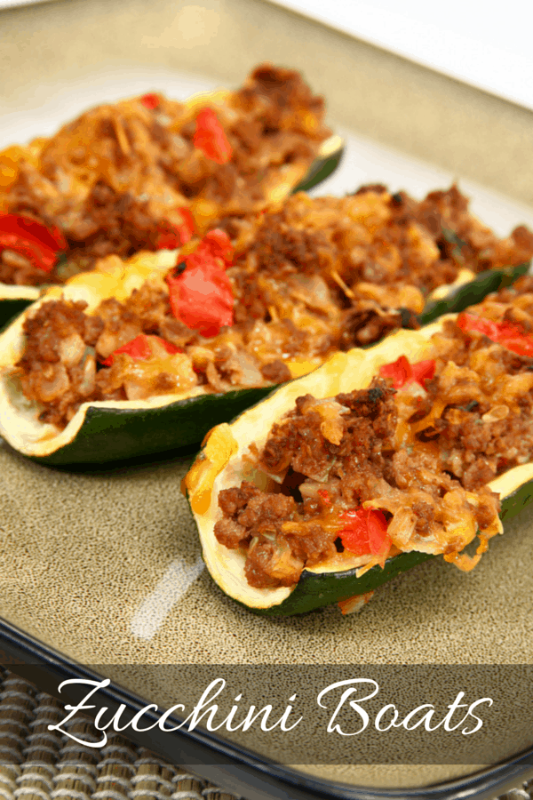 Zucchini boats – Forget the Carbs!