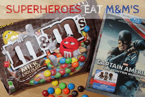 superhero snack mix