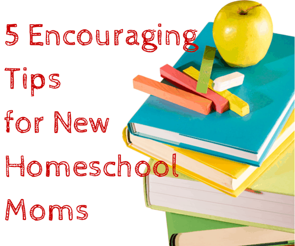 5 Encouraging Tips for New Homeschool Moms