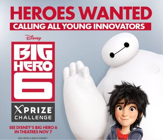 big hero 6 xprize