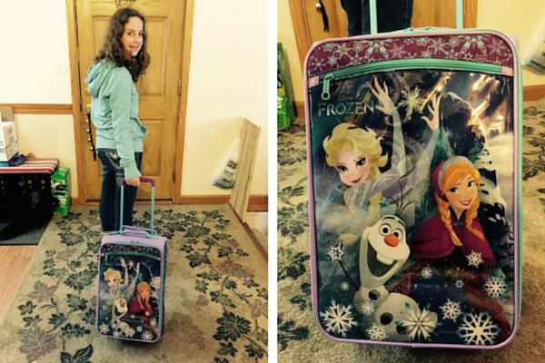 Frozen Luggage for those Frozen Fans