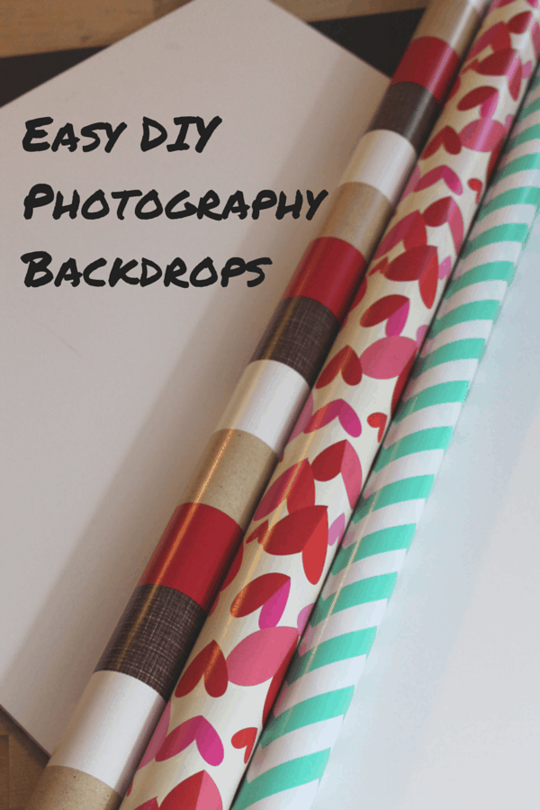 I needed some new backdrops for my photography. So I decided to make my own. It was very easy and I made 3 DIY Photography Backdrops for under $15.