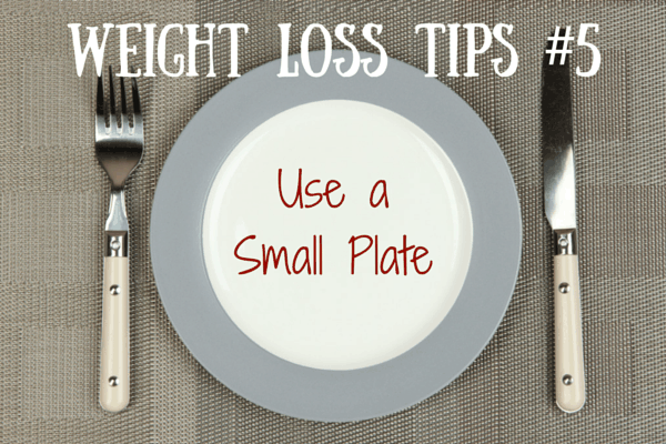 Weight Loss Tips #5 – Eat on a Small Plate