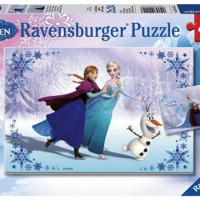 "FREE Disney Frozen ""Sisters Always"" Multi Puzzle Set from Walmart {after cashback}!"
