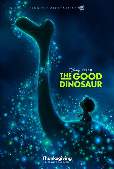 I was able to preview The Good Dinosaur while in LA last week. I absolutely loved it and here's why... 5 Reasons to See The Good Dinosaur