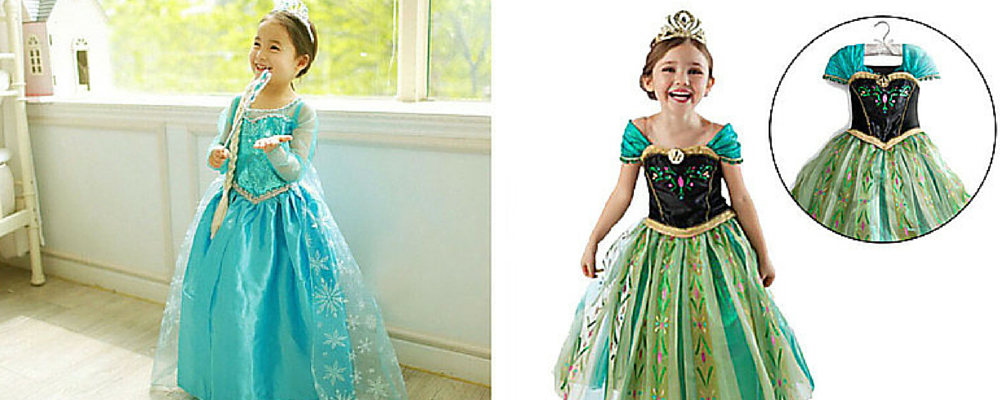 Save on Anna and Elsa dresses! #2016Products