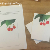 DIY Biri Biri Cherries Greeting Card