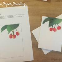 DIY Biri Biri Cherries Greeting Card
