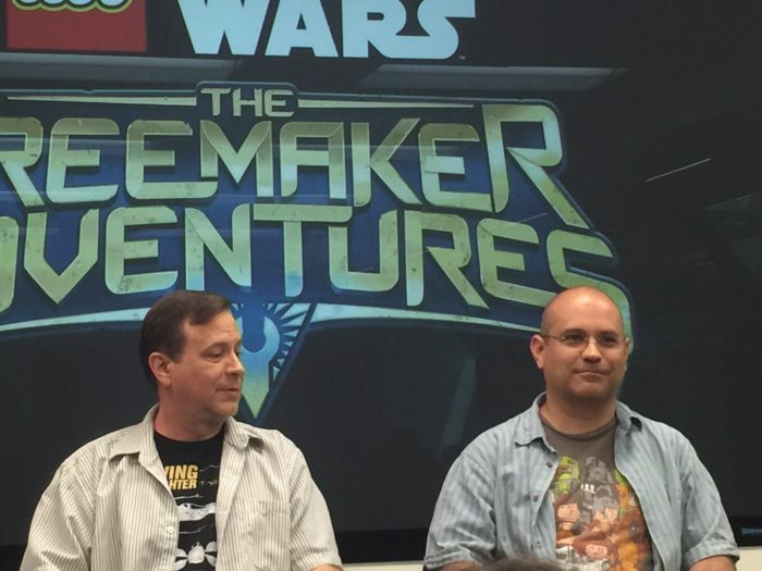 Who's ready to chat about LEGO Star Wars: The Freemaker Adventures? Read on! #LEGOFreemakerEvent