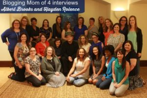 Getting to know Marlin and Nemo – Albert Brooks and Hayden Rolence #FindingDoryEvent