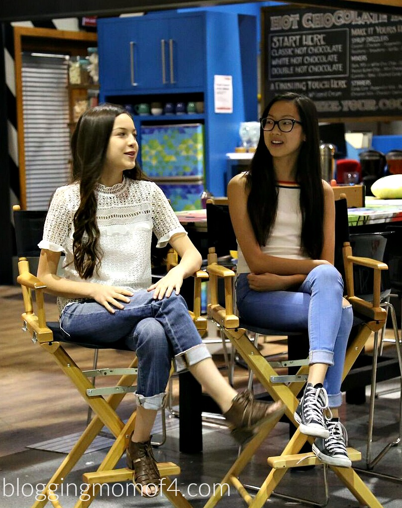 Have you seen Disney Channel's Bizaardvark? We got to chat with the cast, including Jake Paul, creators and tour the set. Take a look.