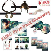 KUBO And The Two Strings Prize Pack Giveaway! Ends 8/19 #KUBOMovie