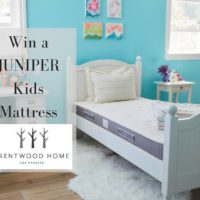 GIVEAWAY WIN a Juniper Kids Mattress #2016HGG @brentwoodhomeLA Ends 11/22