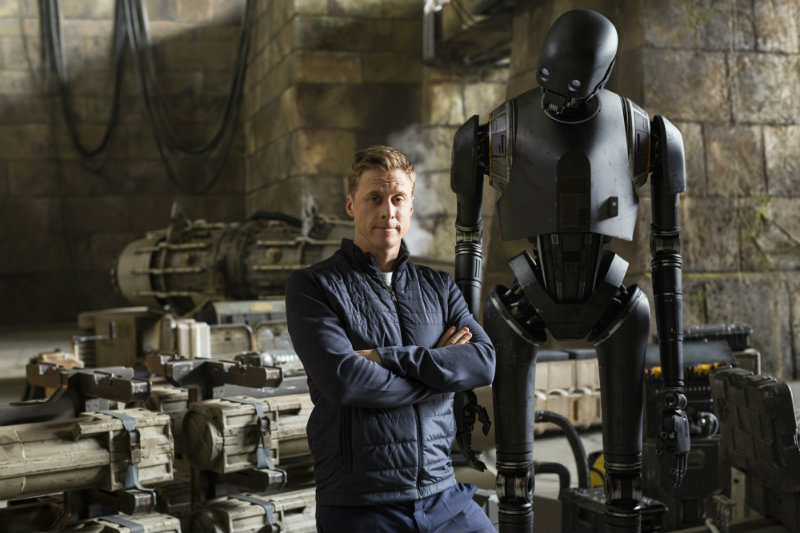 Alan Tudyk as K-2SO Rogue One