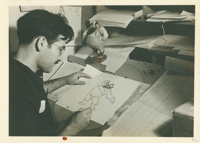 Photograph of Vladimir Tytla; collection of the Walt Disney Family Foundation, © Disney