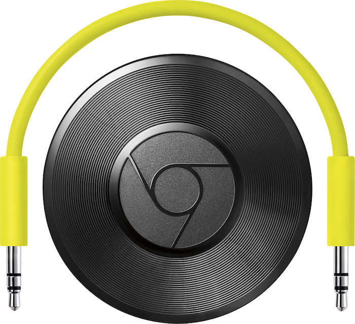 So what is Chromecast Audio? In mom terms, it allows you to use stream music wirelessly on your speakers. Any speakers, old or new.