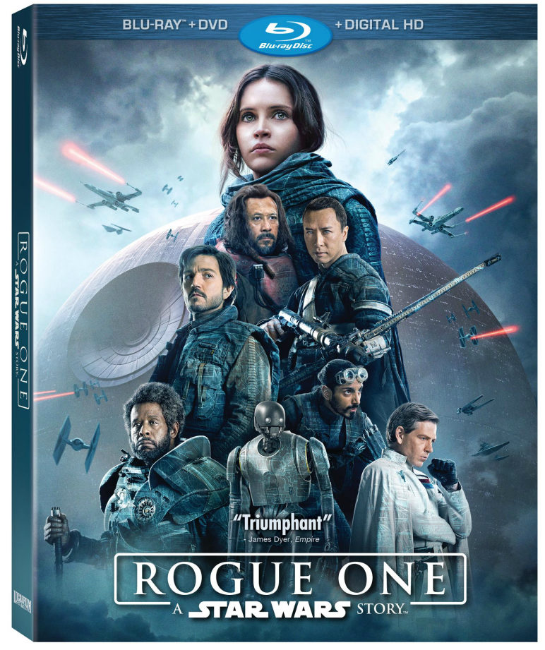Star Wars fans every where are cheering!! Why? Because Rogue One Digital Download is now available!