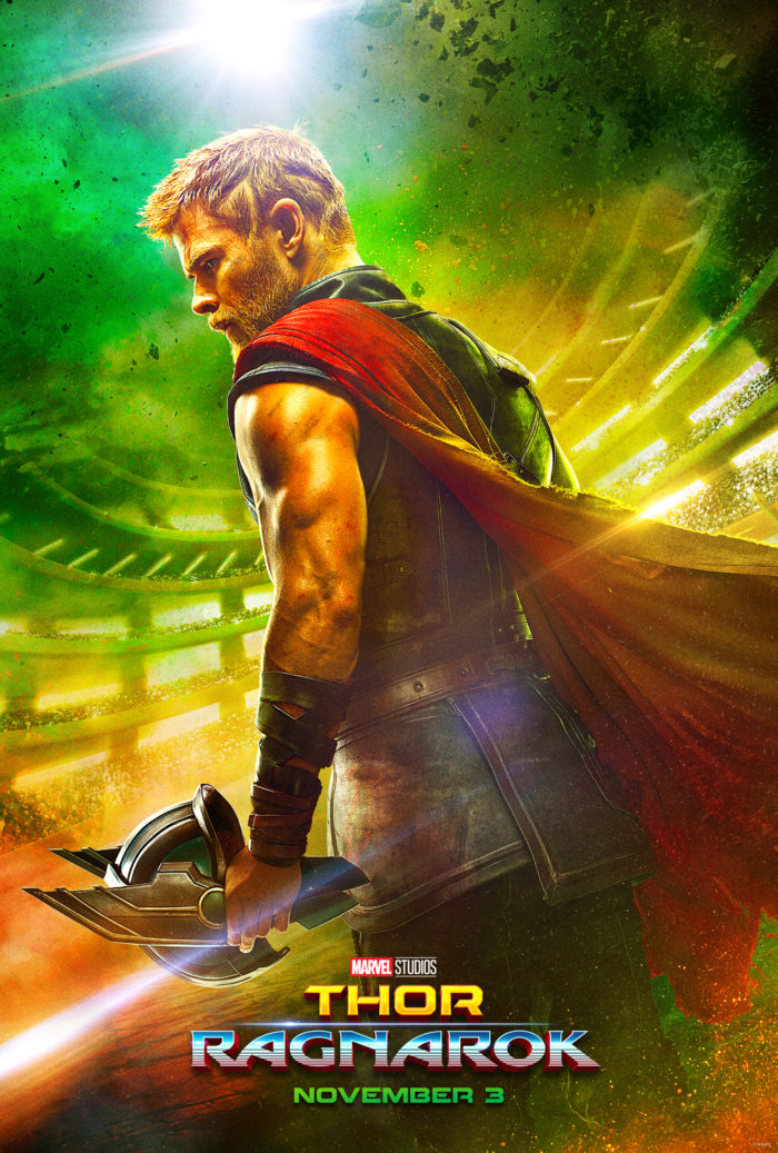 "Have you seen the new trailer for Thor: Ragnarok? AH-Mazing!! ""We know each other! He's a friend from work."" Oh my word.. favorite line from the trailer."