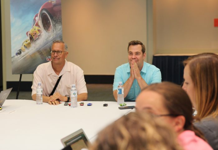I loved getting to sit down and chat with Cars 3 Director and Producer Brian Fee & Kevin Reher. Read on to get a behind the scenes look! #Cars3Event