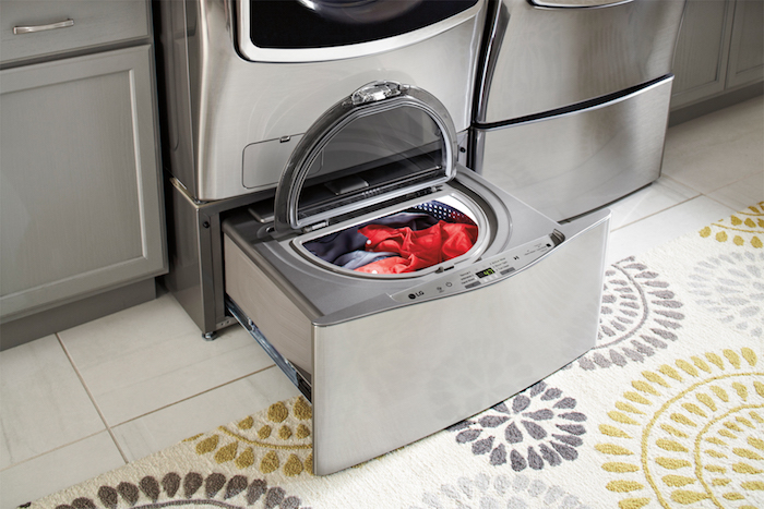 So top load or front load. Do you have a preference? If you have any reservations about getting a front load laundry, let's take a look at the benefits. Specifically, LG front load laundry.