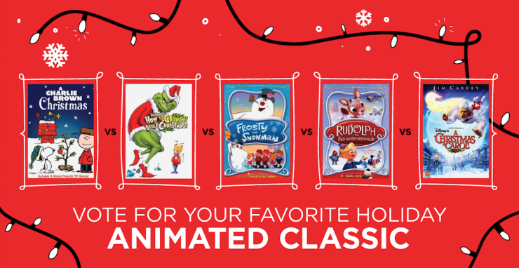 Let's chat favorite Holiday Movies + Enter to WIN a $100 DVD NetFlix Gift Card - 3 winners! Do you have a favorite animated Holiday classic?