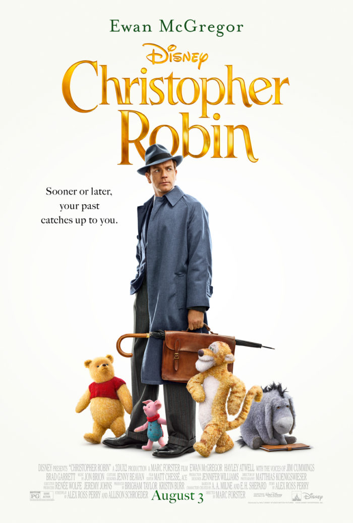 CHRISTOPHER ROBIN is now playing in theatres everywhere! Spoiler FREE Review Plus Activity Sheets! #ChristopherRobin