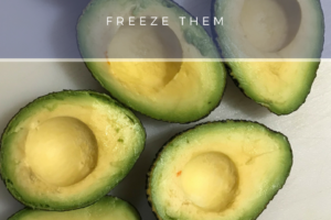 Easiest Way To Preserve Avocados – Freeze Them! Great For Keto Diet!