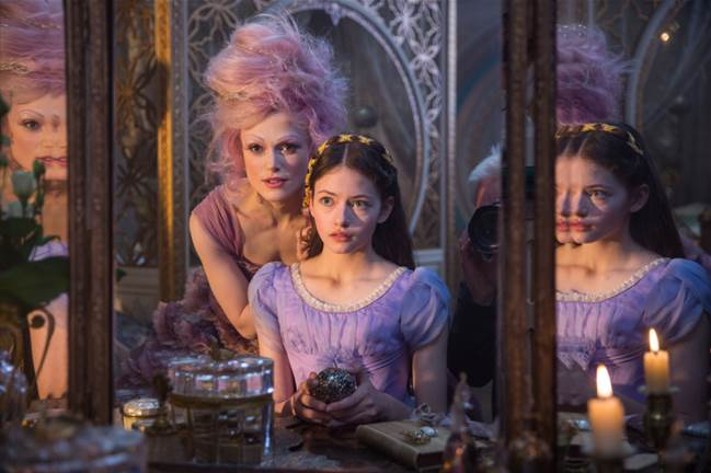 ...we're that much closer to Disney's 2018 holiday feature film THE NUTCRACKER AND THE FOUR REALMS which opens November 2nd!