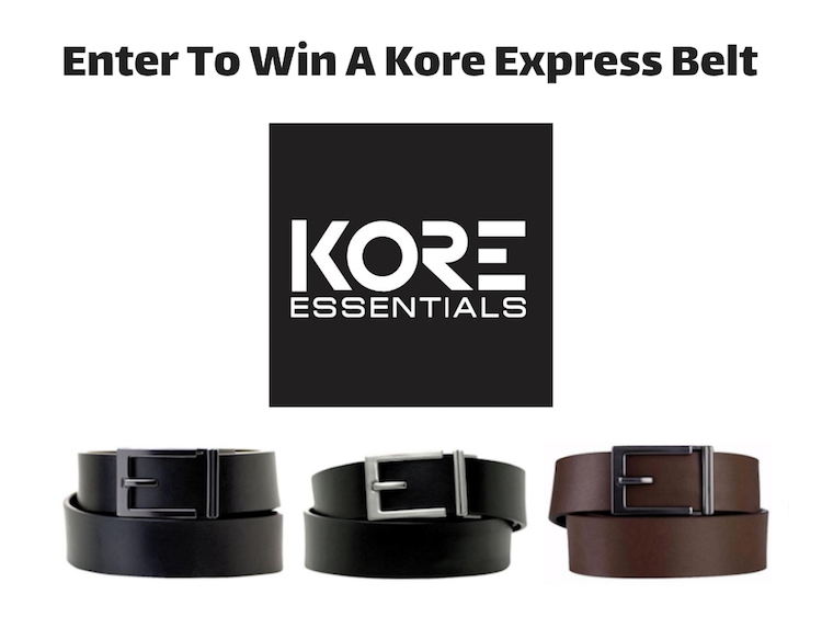 GIVEAWAY - Enter to WIN A Kore Express Belt! Great Gift Idea! Sponsored by @karl_kozak #HolidayEssentials