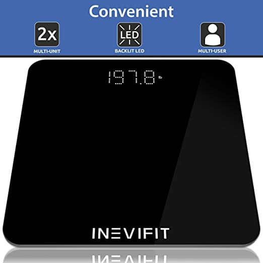 GIVEAWAY - 2 Winners will receive an INEVIFIT Digital Bathroom Scale Ends 12/5 #INEVIFIT #HolidayEssentials