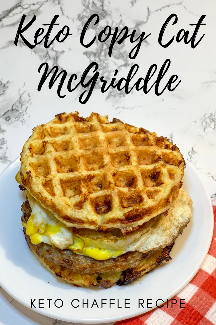 Before switching to a keto lifestyle, the McGriddle was one of my FAVORITES! So having this Keto Copy Cat McGriddle is awesome!