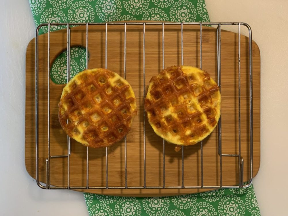 Have you had your first chaffle yet? If not, start with the basic chaffle recipe and then you can easily make a pizza chaffle.