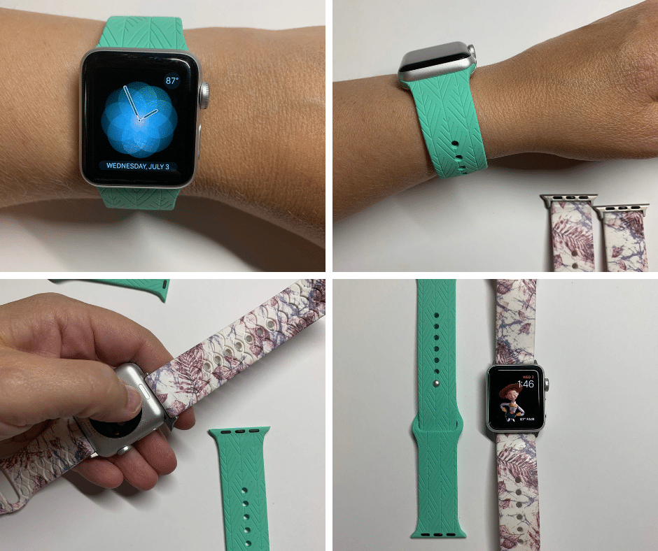I waited to get an Apple Watch for a long time because I just didn't know if I could get used to any of the Apple Watch Bands again.