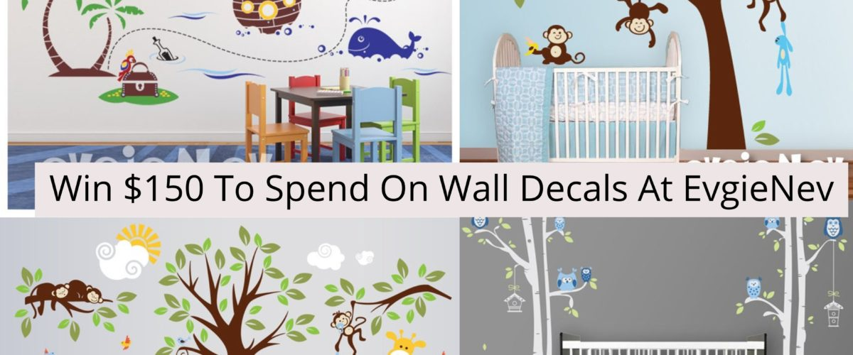 Enter to win a $150 credit to EvgieNev Wall Decals