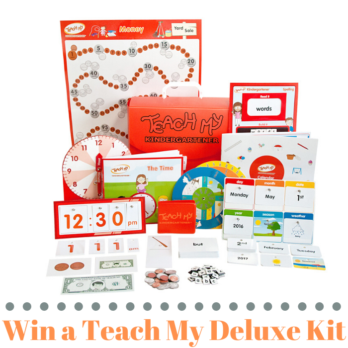 Win a Teach My Deluxe Kit