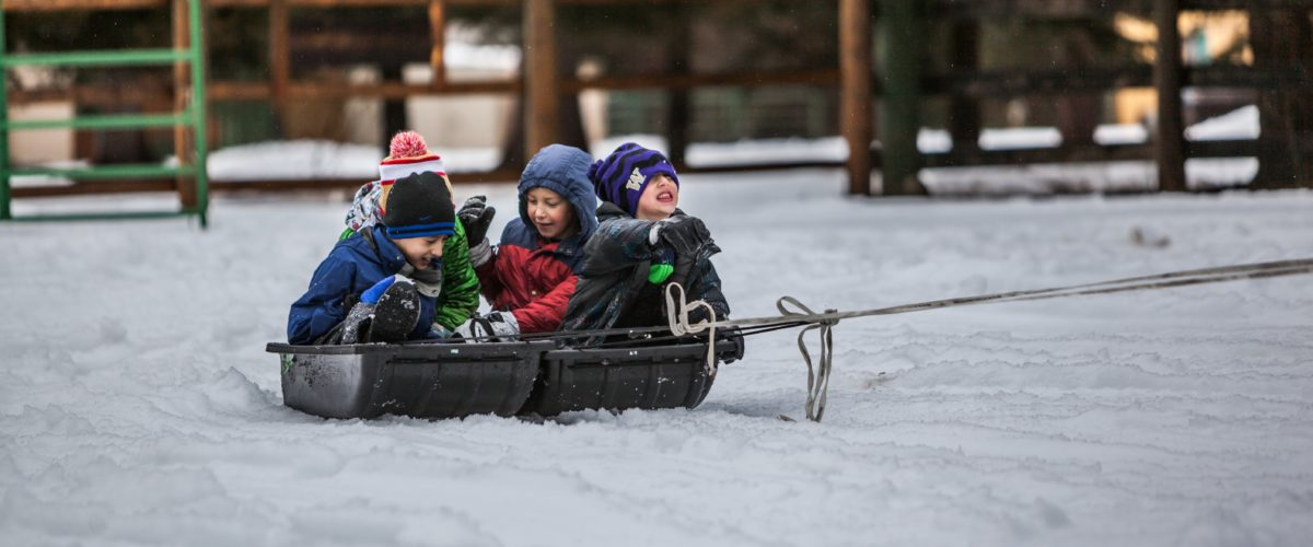 Winter Wanderers: Getting Your Kids Outdoors in the Winter