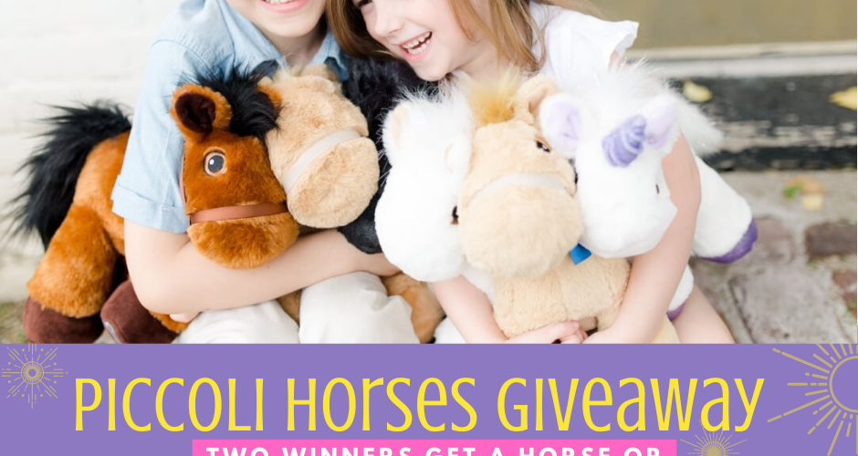 Giveaway! Enter to Win a Piccoli Horse or Unicorn (2 Winners!) Ends 11/22 #2019HolidayGuide
